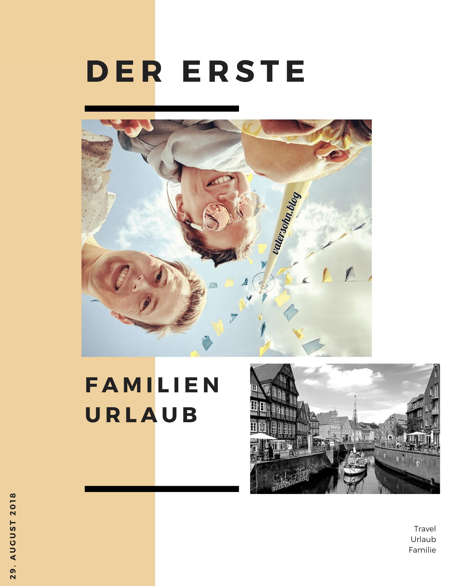 Familienurlaub Header Grafik - Richard, Maren und Hugo
