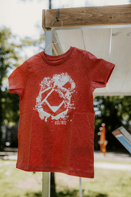 KIDS FRITZ Fashion T-Shirt SMASH rot