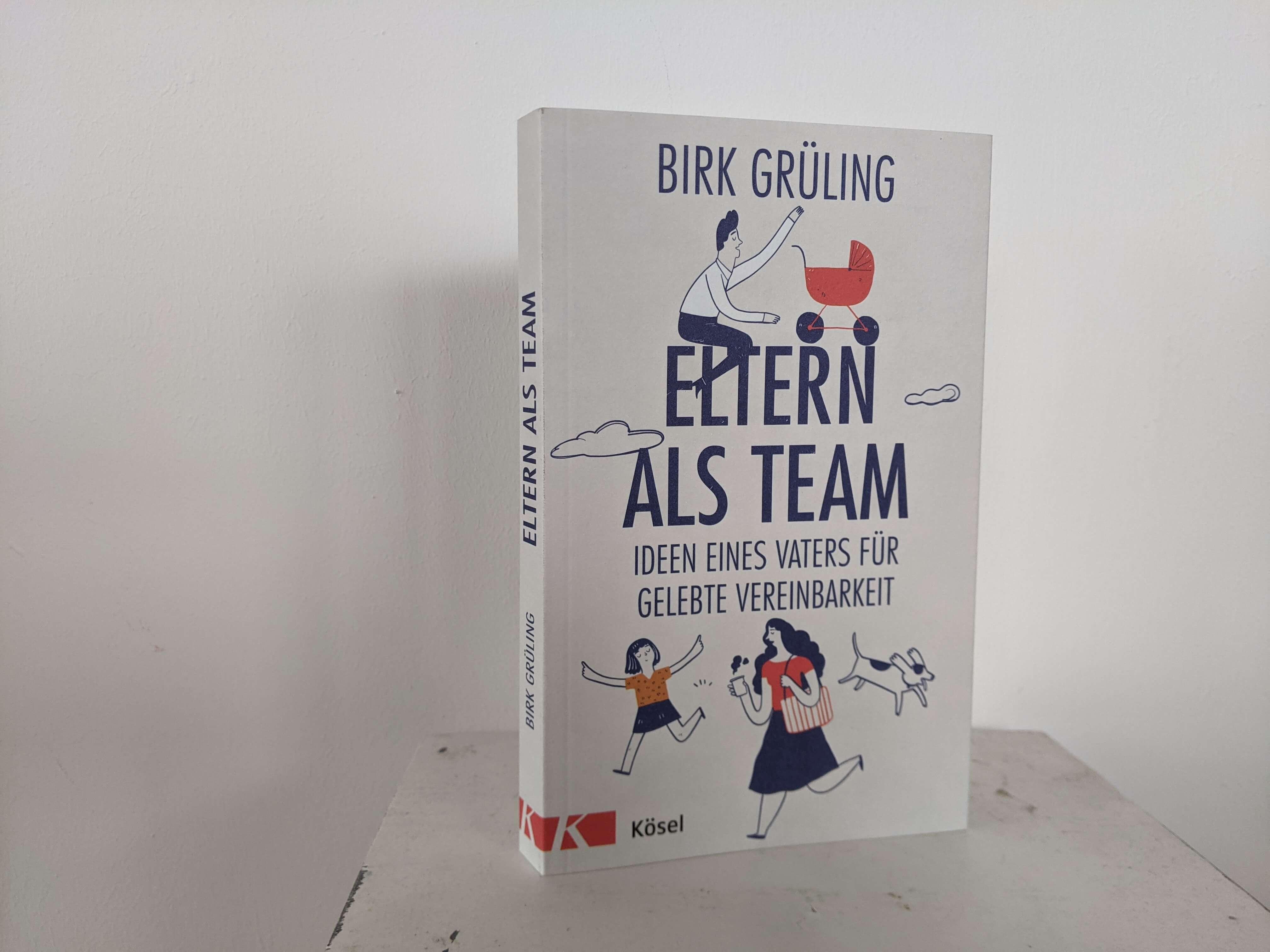 Eltern als Team –Header Grafik Buch Brik Grueling