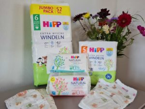HiPP Babysanft Windeln + Feuchttücher – Header Grafik Blog (1)