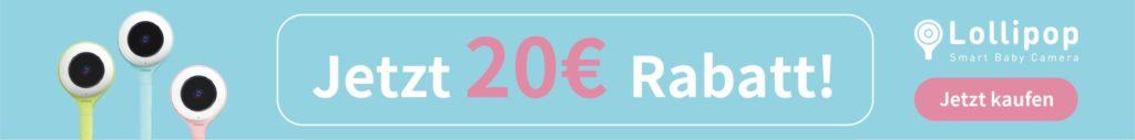 Lollipop Babyphone Grafik 20 Euro Rabatt