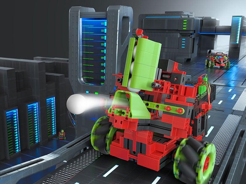Robotik Kinderspielzeug - Ballroboter Robotics Smarttech fischertechnik
