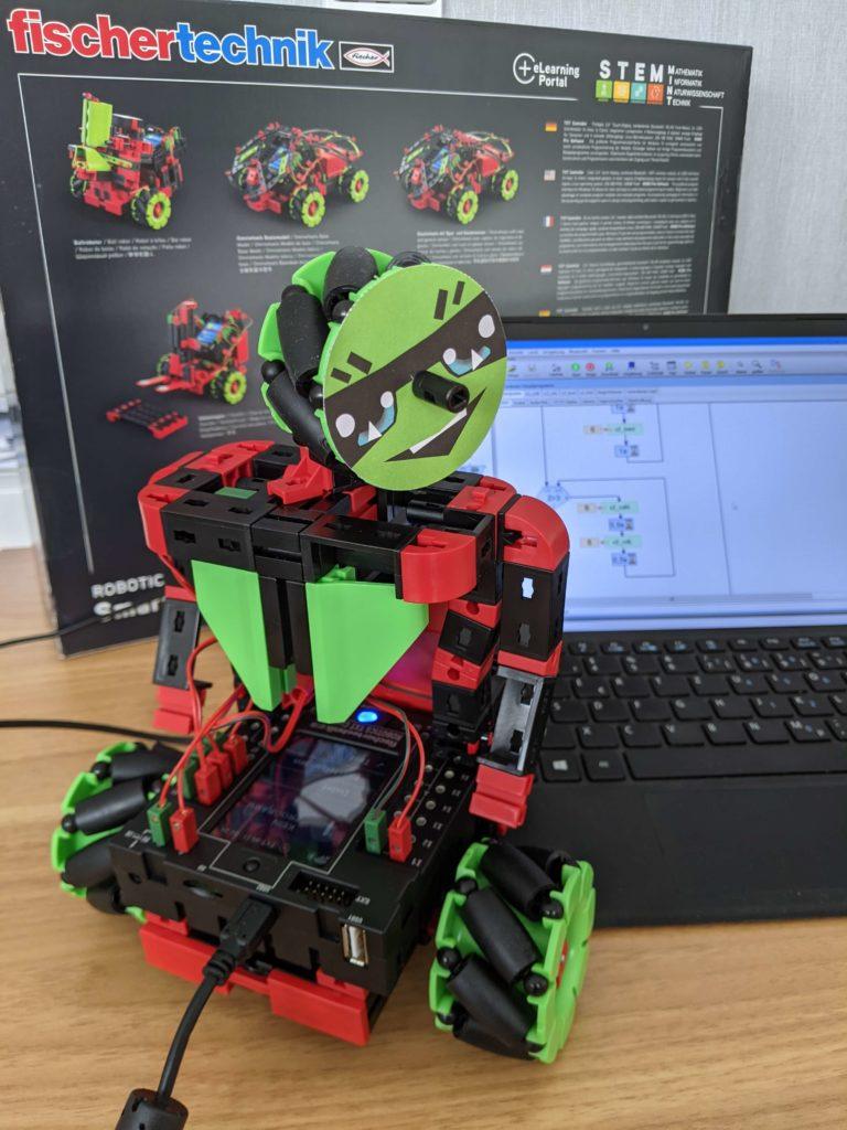 Tanzroboter fischertechnik Robotics Smarttech